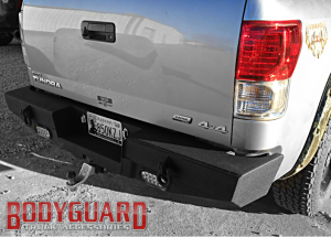 Bodyguard - Traditional Rear Bumper - Toyota