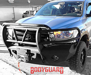 Bodyguard Bumpers - Traditional Front Bumper - Toyota