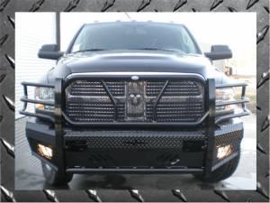 Dodge Ram 2500/3500 - Dodge RAM 2500/3500 2010-2016 - Frontier Gear - Frontier Gear 130-41-0006 Pro Series Front Bumper Dodge 2500/3500 2010-2015