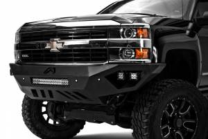Truck Bumpers - Fab Fours Vengeance - Chevy
