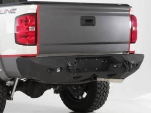 Rear Bumpers - Smittybilt M1 Series - Smittybilt - Smittybilt 614802 M1 Rear Bumper Dodge Ram 2500/3500 2010-2019
