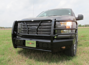 Front Bumper Replacement - Ford - Frontier Gear - Frontier 300-51-5005 Front Bumper Ford F150 2015-2017