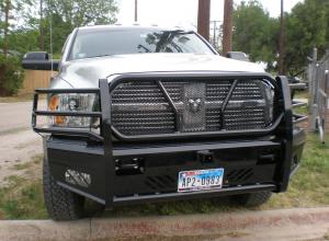 Frontier Truck Gear - Pro Series Front Bumpers - Frontier Gear - Frontier 130-41-0006 Pro Series Front Bumper Dodge RAM 2500/3500 2010-2018
