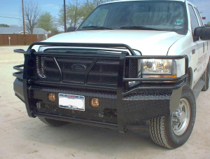 Front Bumper Replacement - Ford - Frontier Gear - Frontier 300-19-9005 Front Bumper Ford F250/F350 1999-2004