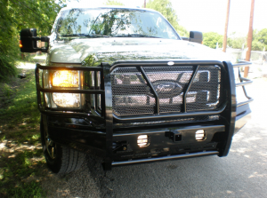 Truck Bumpers - Frontier Truck Gear - Frontier Gear - Frontier 130-11-1005 Pro Series Front Bumper Ford F250/F350 2011-2016