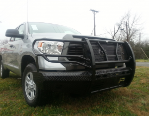 Front Bumper Replacement - Toyota - Frontier Gear - Frontier 300-61-4003 Front Bumper Toyota Tundra 2014-2018