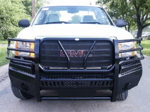 Frontier Gear Front Bumper Replacements - GMC - Frontier Gear - Frontier 300-30-7005 Front Bumper GMC Sierra 2500HD/3500 2007-2010