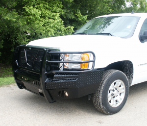 Frontier Gear Front Bumper Replacements - GMC - Frontier Gear - Frontier 300-30-7008 Front Bumper GMC Sierra 1500 2007-2013