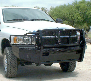 Dodge Ram 1500 - Dodge RAM 1500 2002-2005 - Frontier Gear - Frontier 300-40-3005 Front Bumper Dodge RAM 1500/2500/3500 2002-2005