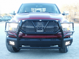 Front Bumper Replacement - Dodge - Frontier Gear - Frontier 300-40-9004 Front Bumper Dodge RAM 1500 2009-2012 Not Sport