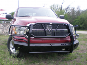 Front Bumper Replacement - Dodge - Frontier Gear - Frontier 300-41-3004 Front Bumper Dodge RAM 1500 2013-2016 Not Sport or Express