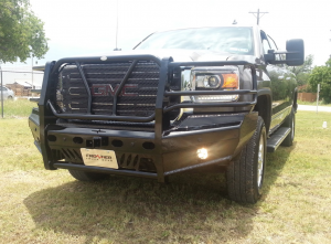Frontier Truck Gear - Pro Series Front Bumpers - Frontier Gear - Frontier 130-31-5005 Pro Series Front Bumper GMC Sierra 2500HD/3500 2015-2018
