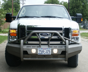Superduty Bumpers - Ford Superduty 2008-2010 - Frontier Gear - Frontier 600-10-8005 Xtreme Front Bumper Ford F250/F350 2008-2010