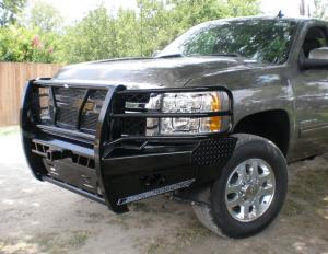 Frontier Truck Gear - Pro Series Front Bumpers - Frontier Gear - Frontier 130-21-1005 Pro Series Front Bumper Chevy Silverado 2500HD/3500 2011-2014