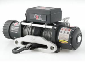 B Exterior Accessories - Winches - Smittybilt - Smittybilt 98510 X2O 10K GEN2 Winch with Synthetic Rope