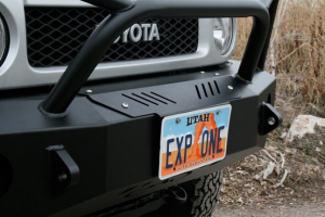 Expedition One Bumpers - Jeep Wrangler JK Products - Expedition One - Expedition One FJ Cruiser Winch Cover