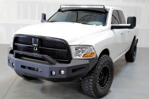 ICI Magnum Front Bumper - Dodge - ICI Innovative Creations - ICI FBM81DGN-RT Non-Winch Front Bumper with RT-Series Light Bar Dodge RAM 1500 2009-2012
