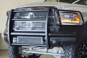 Road Armor Stealth - Dodge Ram 2500/3500 2010-2014 - Road Armor - Road Armor 4102F6NX6B Vaquero Front Bumper Dodge RAM 2500/3500 2010-2016