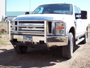 Truck Bumpers - Truck Defender - Truck Defender Aluminum Front Bumper Ford F250/F350 Super Duty 1999-2004