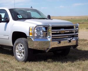 Truck Defender Aluminum - Chevy - Truck Defender - Truck Defender Aluminum Front Bumper Chevy Silverado 2500HD/3500 2011-2014