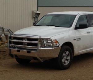 Truck Defender Aluminum - Dodge - Truck Defender - Truck Defender Aluminum Front Bumper Dodge RAM 1500 2013-2016