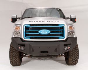 Truck Bumpers - Fab Fours Premium - Front Winch Bumper