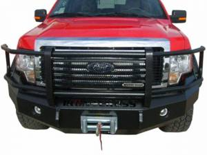 Bumpers by Style - Grille Guard Bumper - Iron Cross