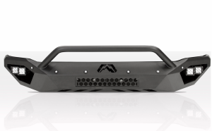 Truck Bumpers - Fab Fours Vengeance - Fab Fours - Fab Fours DR16-V4052-1 Vengeance Front Bumper with Pre-Runner Bar and Sensors Dodge RAM 2500/3500 2016-2017
