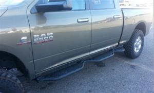 Hammerhead Bumpers - Hammerhead 0316 Running Boards Bed Access Dodge RAM 2500 2010-2017 Crew Cab Short Bed