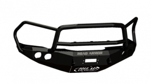 Road Armor - Road Armor 44045B Front Stealth Winch Bumper with Round Light Holes + Lonestar Guard Dodge Ram 2500/3500 2003-2005 - Image 2