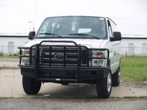Elite Series Bumpers - Ford - Thunderstruck - Thunderstruck FEV92-200 Elite Front Bumper 1992-2007 Ford E250/450 Van