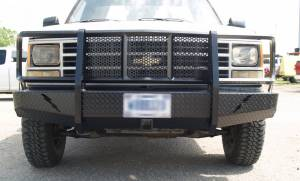 Shop Bumpers By Vehicle - Chevy Tahoe and Suburban - Thunderstruck - Thunderstruck OSC88-200 Elite Front Bumper 1988-1998 Chevy 1500/Tahoe/Suburban/Yukon