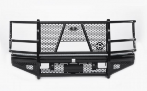 Shop Bumpers By Vehicle - Ford F450/F550 Super Duty - Ranch Hand - Ranch Hand FBF171BLR Legend Front Bumper with Grille Guard Ford F250/F350 2017-2018