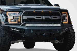 Addictive Desert Designs - Ford Raptor 2017-2018 - Addictive Desert Designs - ADD F117432860103 Honeybadger Front Bumper Ford Raptor 2017-2018