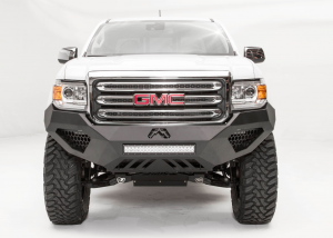 Shop Bumpers By Vehicle - GMC Canyon - Fab Fours - Fab Fours GC15-D3451-1 Vengeance Front Bumper GMC Canyon 2015-2017