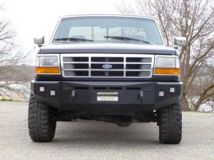 Truck Bumpers - Fusion Bumpers - Fusion 9397FORDFB Front Bumper Ford F250/F350 1993-1997