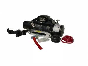 B Exterior Accessories - Winches - ENGO - ENGO 97-09000S SR9000S 9K Winch with Synthetic Rope