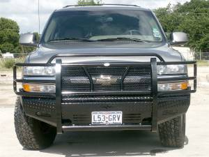 Shop Bumpers By Vehicle - Chevy Tahoe and Suburban - Frontier Gear - Frontier 300-29-9005 Front Bumper Chevy Suburban 1500 2000-2006