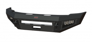 Truck Bumpers - Bodyguard - Bodyguard - Bodyguard A2LFBG141X Non-Winch Low Profile Base Front Bumper GMC 1500 2014-2015