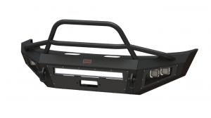 Shop Bumpers By Vehicle - Ford F450/F550 Super Duty - Bodyguard - Bodyguard A2LFGF172F A2L Non-Winch Low Profile Sport Front Bumper Ford F450/F550 2017-2018 Does Not Support Sonar Sensor