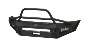 Shop Bumpers By Vehicle - Nissan Titan - Bodyguard - Bodyguard A2LFGN161X A2L Non-Winch Low Profile Sport Front Bumper Nissan Titan Xd 2016-2017