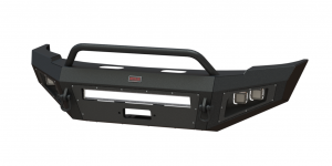 Shop Bumpers By Vehicle - Ford F450/F550 Super Duty - Bodyguard - Bodyguard A2LFJF172F A2L Non-Winch Low Profile Baja Front Bumper Ford F450/F550 2017-2018 Does Not Support Sonar Sensor