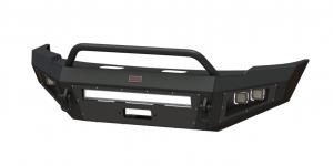 GMC Sierra 2500/3500 - GMC Sierra 2500/3500HD 2015-2017 - Bodyguard - Bodyguard A2LFJG152X Non-Winch Low Profile Baja Front Bumper GMC 2500/3500 2015-2017