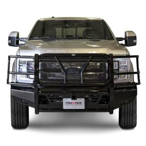 Superduty Bumpers - Ford Superduty 2017-2019 - Frontier Gear - Frontier 130-11-7005 Pro Series Front Bumper Ford F250/F350 2017-2019 works with Adaptive Cruise