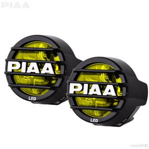 "PIAA - PIAA 22-05370 LP530 3.5"" LED Lights - Ion Yellow"