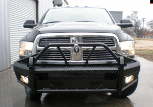 Xtreme Front Bumper Replacement - Dodge - Frontier Gear - Frontier 600-41-0006 Xtreme Front Bumper with Sensor Holes Dodge RAM 2500/3500 2010-2017
