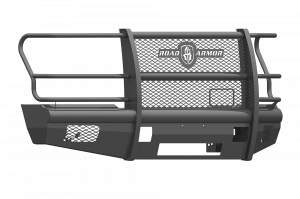 Superduty Bumpers - Ford Superduty 2017-2018 - Road Armor - Road Armor 617VF6B Vaquero Front Bumper with Grille Guard Ford F250/F350 2017-2018