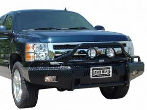 Ranch Hand Bumpers - Ranch Hand - Ranch Hand BSG151BL1 Summit Front Bumper GMC Sierra 2500HD/3500 2015-2017