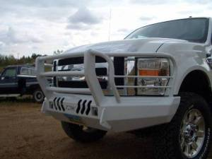 Truck Bumpers - Throttle Down Kustoms - Ford F250/F350 2008-2010