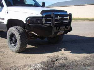 Truck Bumpers - Throttle Down Kustoms - Dodge RAM 2500/3500 1994-2002